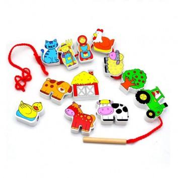 Klocki LEGO Duplo - Leśne zwierzęta 10582
