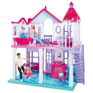 Mega Bloks Barbie - Super Rockowa Scena 80247