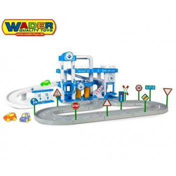 Plan Toys - Drewniana wyścigówka PLTO-4314