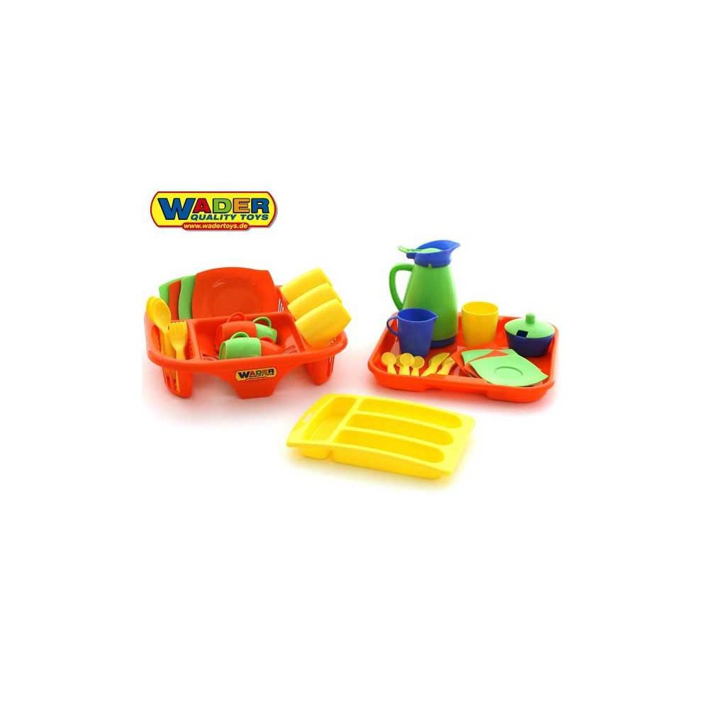 Plan Toys - Drewniane puzzle koła zębate deluxe