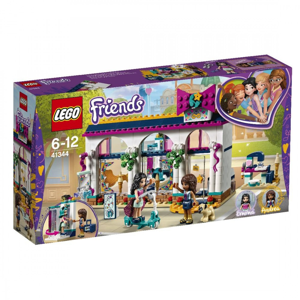 Klocki Lego Friends Sklep Z Akcesoriami Andrei 41344