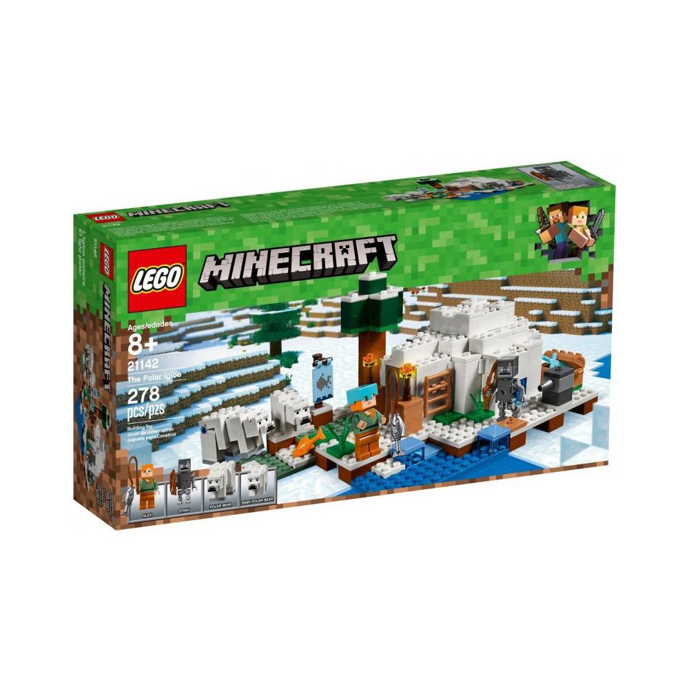 klocki lego minecraft 21142